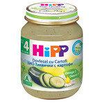 HIPP Био Бебешко пюре/тиквички и картофи/4м+ 125 гр.